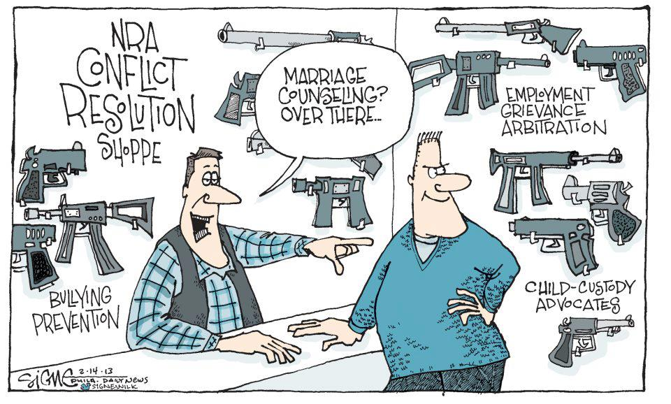 NRA Conflict Resolution Shoppe - RUL2C?