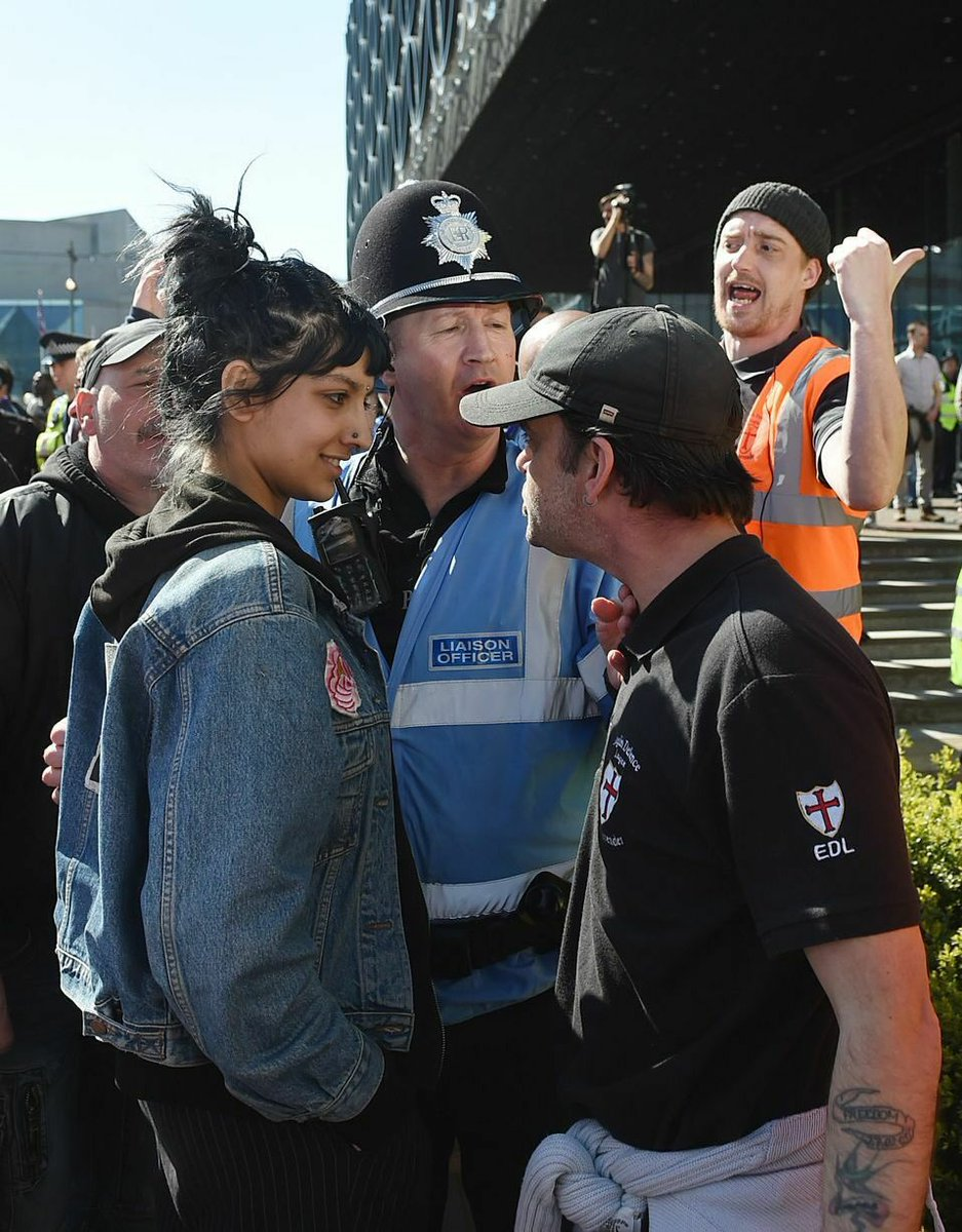 Saffiyah Khan on her confrontation with Far Right leader - RUL2C?